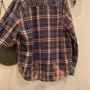 Aeropostale Bleached Flannel
